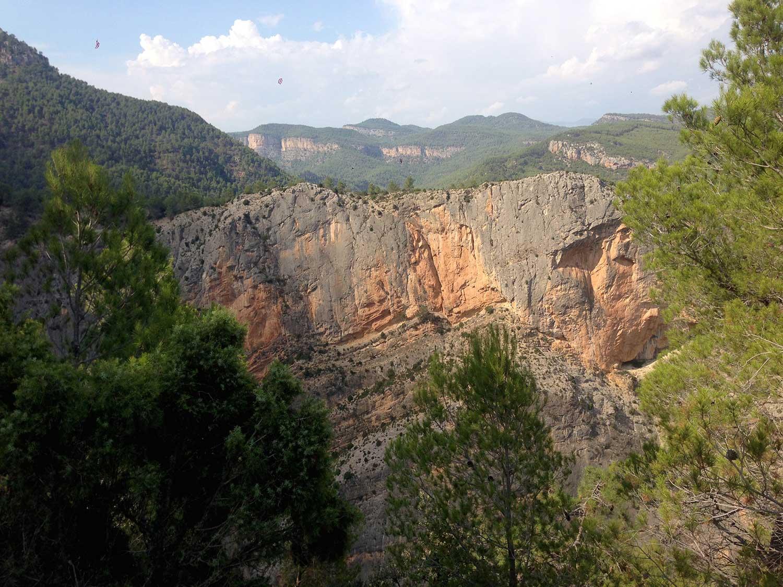 Sendero La Bojera, Montanejos, Valencia