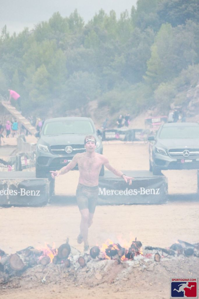 Spartan Race finish