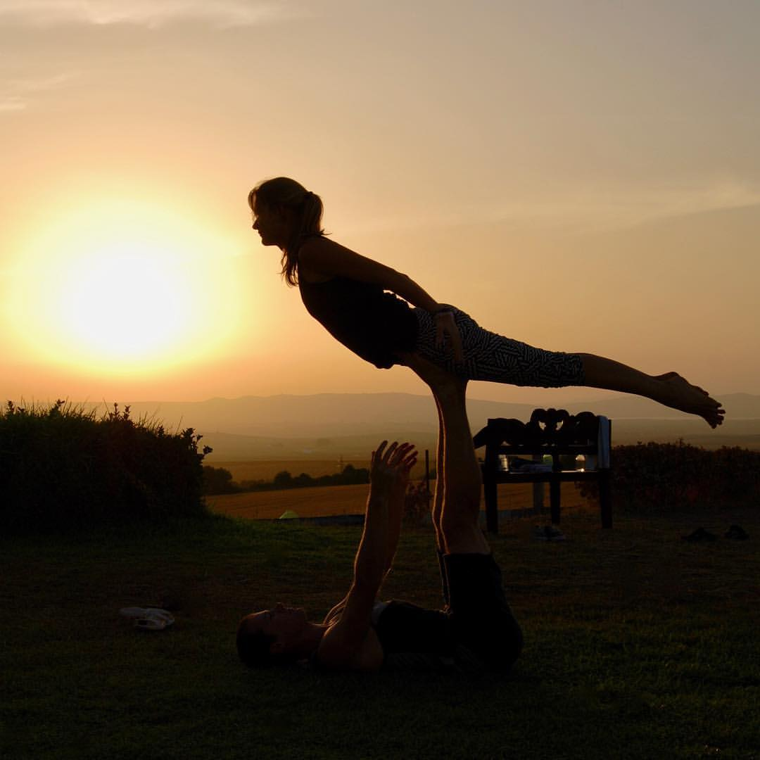 AcroYoga with Lidiya at Suryalila