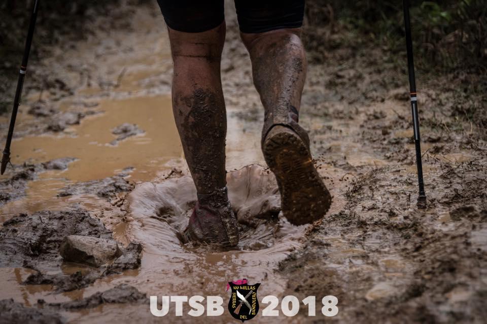 UTSB 2018 runner passing through thick mud